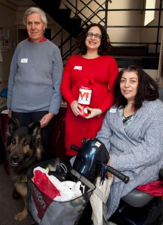 Concerned: Roy Benjamin pictured at a Merton Independent Living event