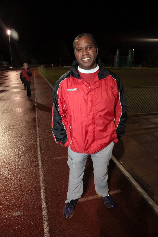 Wimbledon Guardian: Proud: Herne Hill Harriers coach James McDonald