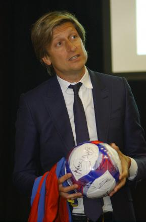 Eagles co-chairman Steve Parish has already had plenty of interest in the Palace vacancy