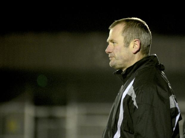 Calm: Alan Dowson has players in mind, but only the right players