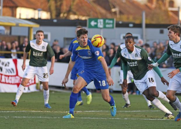 Wimbledon Guardian: Proving his worth: Charlie Sheringham has earned praise off Dons boss Neal Ardley