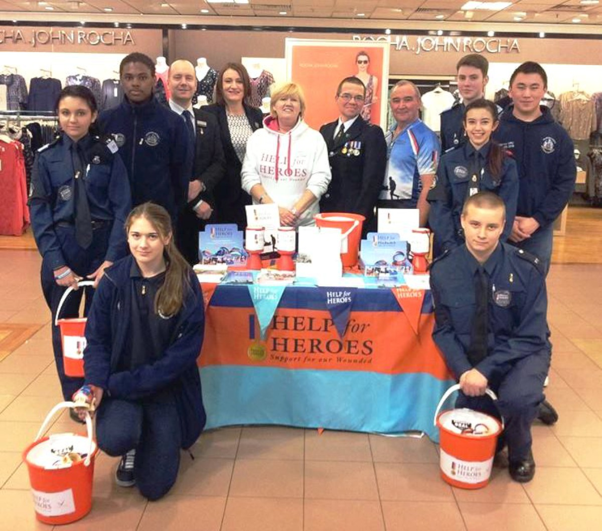 Youngsters raise money for Help for Heroes in Wimbledon
