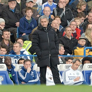 Jose Mourinho continues to play down Chelsea's title chances