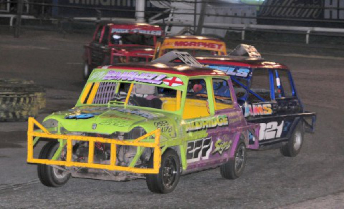 Up, close and personal: The close racing of the Ministox
