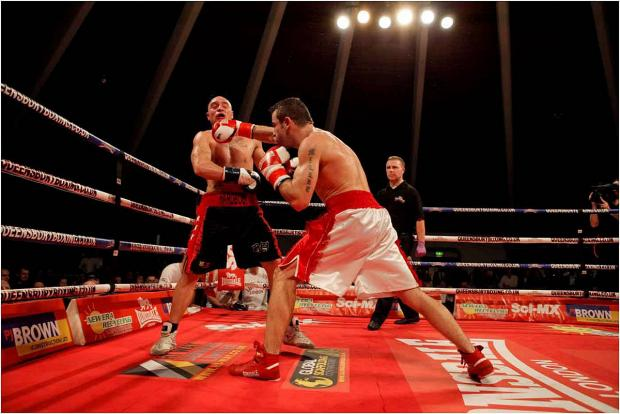 Back in the ring: Gareth Gardner returns to action in the Queensbury Boxing League this weekend