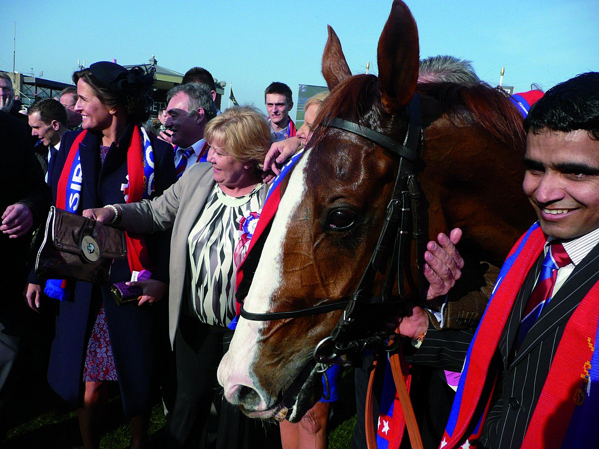 Crystal Palace fan gets royal approval after his horse wins big Cheltenham race