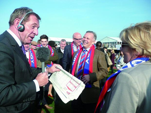Wimbledon Guardian: Die hard Crystal Palace supporter Steve Preston is Sire De Grugy's owner