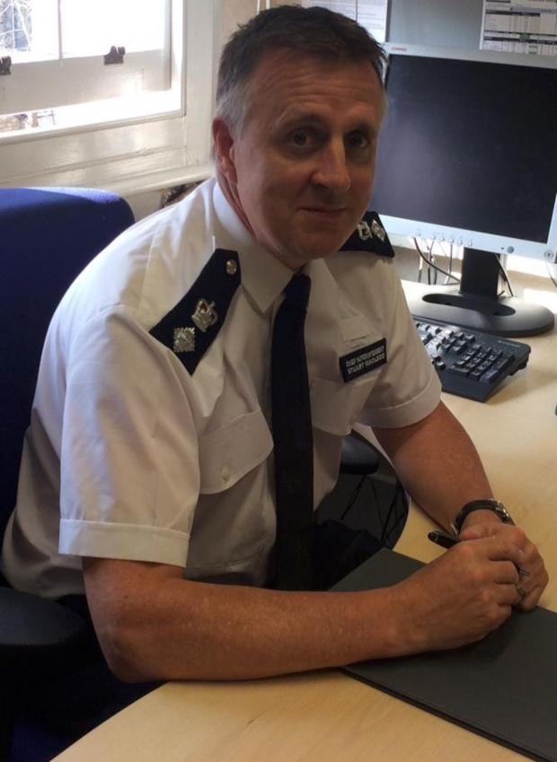 Wimbledon Guardian: Chief Supt Stuart Macleod, borough commander of Merton