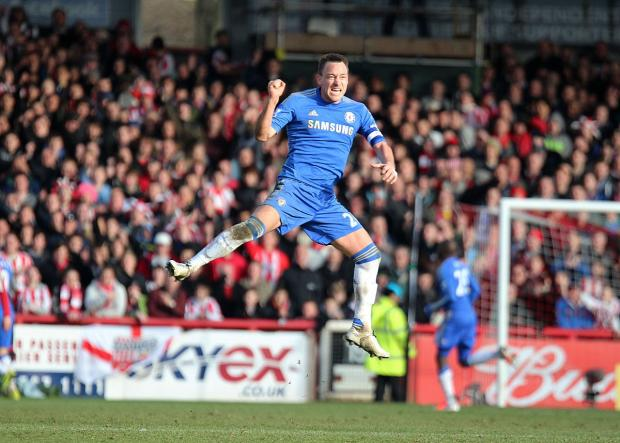 Wimbledon Guardian: Feeling Blue: Chelsea captain John Terry