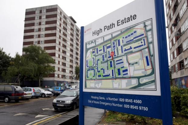 High Path estate in South Wimbledon will be demolished and rebuilt