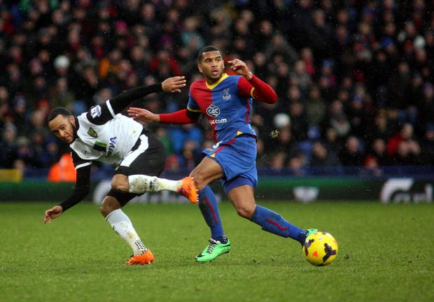 Eagles defender Adrian Mariappa. Picture by Edmund Boyden.