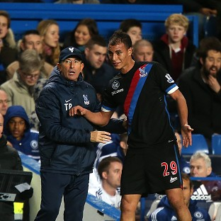 Palace manager Tony Pulis enjoyed the company of Chelsea's Jose Mourinho following the Blues' win