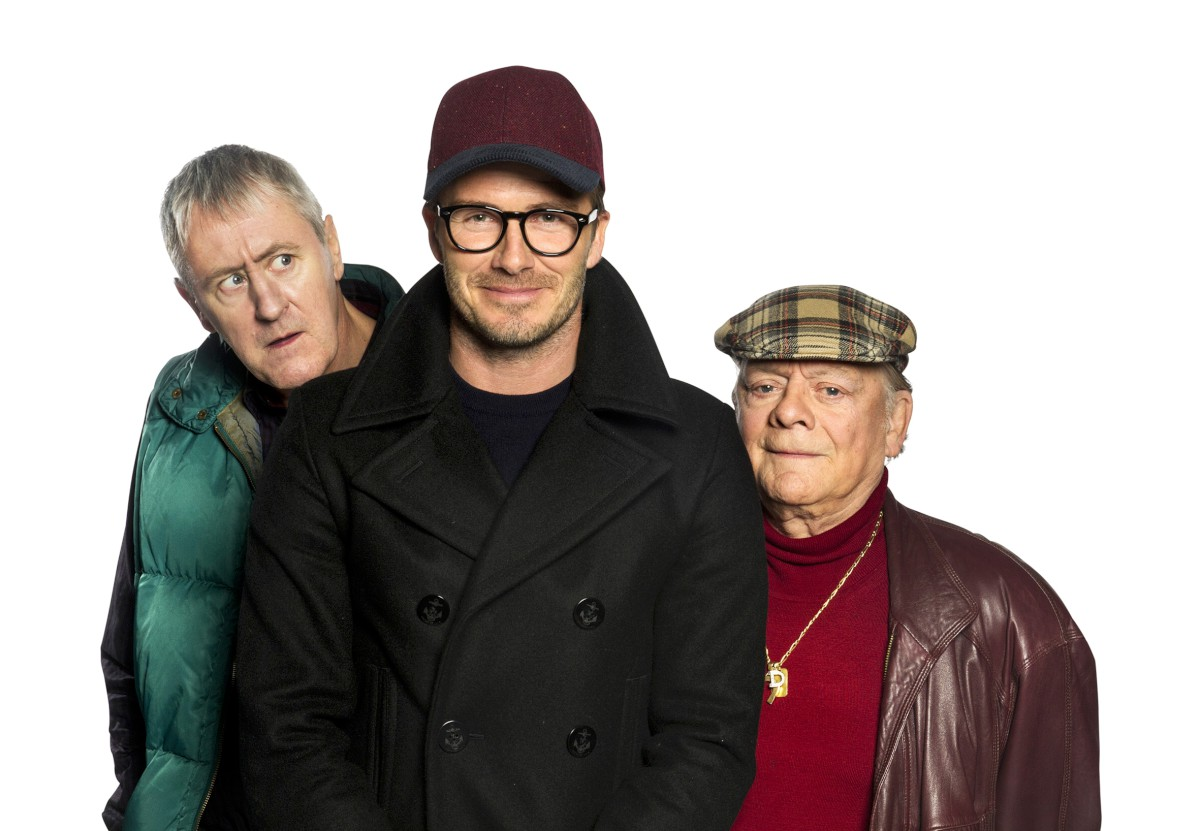 David Beckham filmed Only Fools and Horses there recently