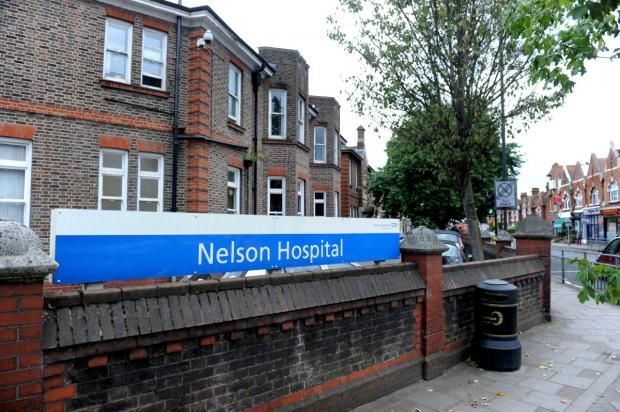 The former Nelson Hospital in Wimbledon before work began
