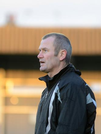 Confident: Boss Alan Dowson
