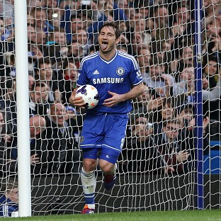 Frank Lampard netted the second
