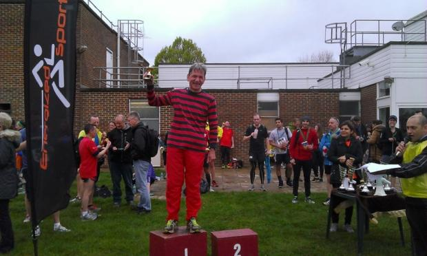Wimbledon Guardian: Winner: Waldy Pauzers won the V60 category at the Kingston half-marathon,clocking 97:50