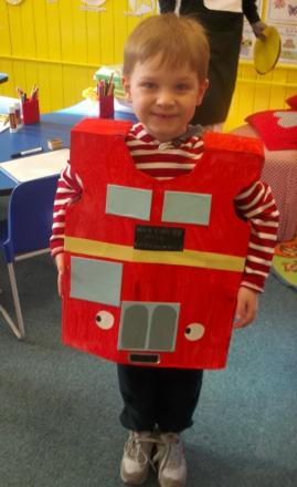'The Naughty Bus': Jack Shepard, reception class