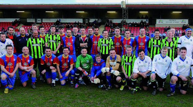 The two teams from last year (pic credit Seb Daly)