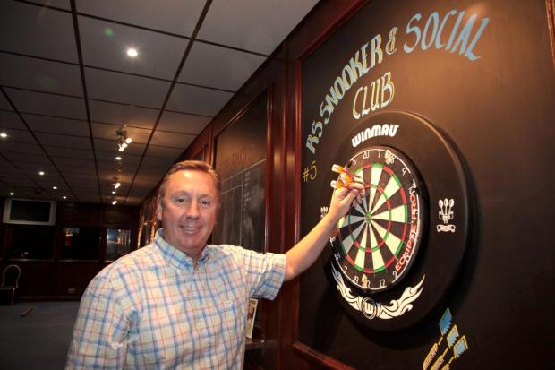 New owner Rob Frost at the refurbished club