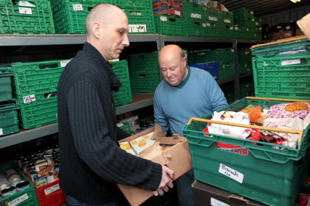 "Wimbledon Guardian: WIMB GREEN Food bank chief says ""everyone is a paycheck away from disaster"""