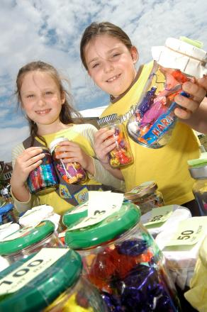 Brownies lend a helping hand at last year's event