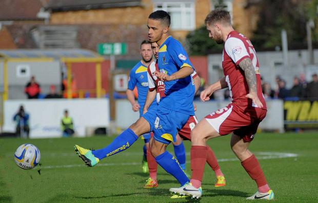 Wimbledon Guardian: Much to tell: Jake Nicholson is at the centre of a points deduction furore at AFC Wimbledon
