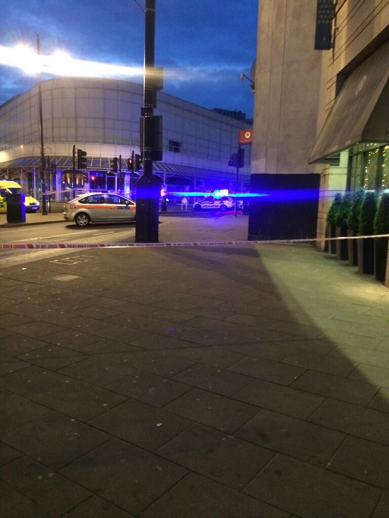 Man dies after being hit by lorry in Wimbledon town centre