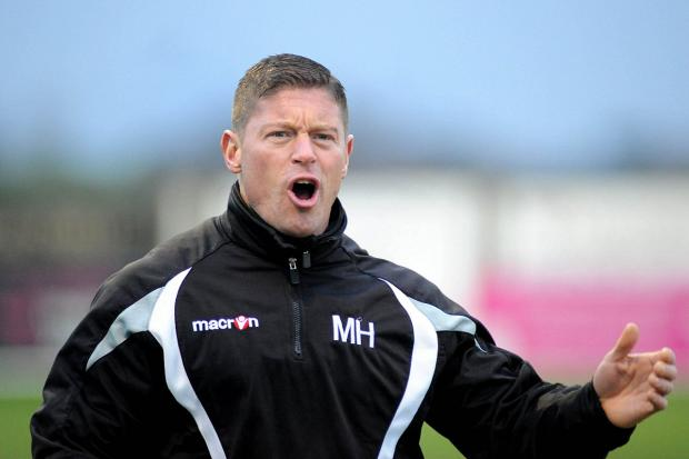 Determined: Stags manager Mark Hams 	 Deadlinepix SP82595