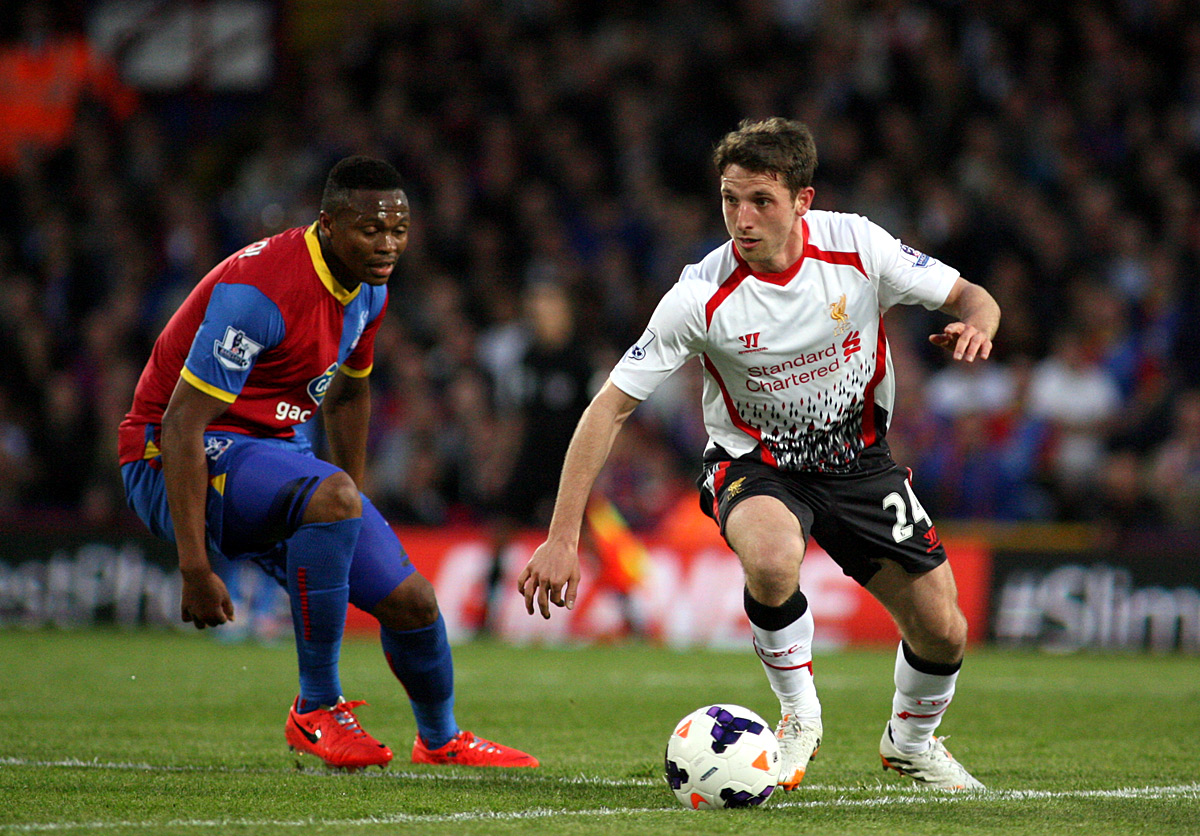 Wimbledon Guardian: Joe Allen gets away from Yannick Bolasie