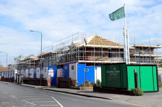 Work is underway at the former Nelson Hospital in Kingston Road