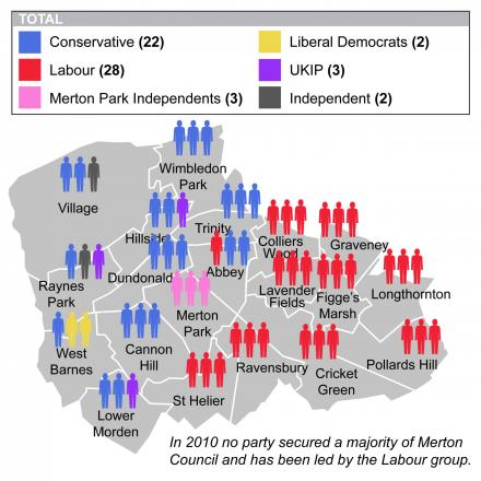 All to play for: Merton's political map going into the 2014 elections