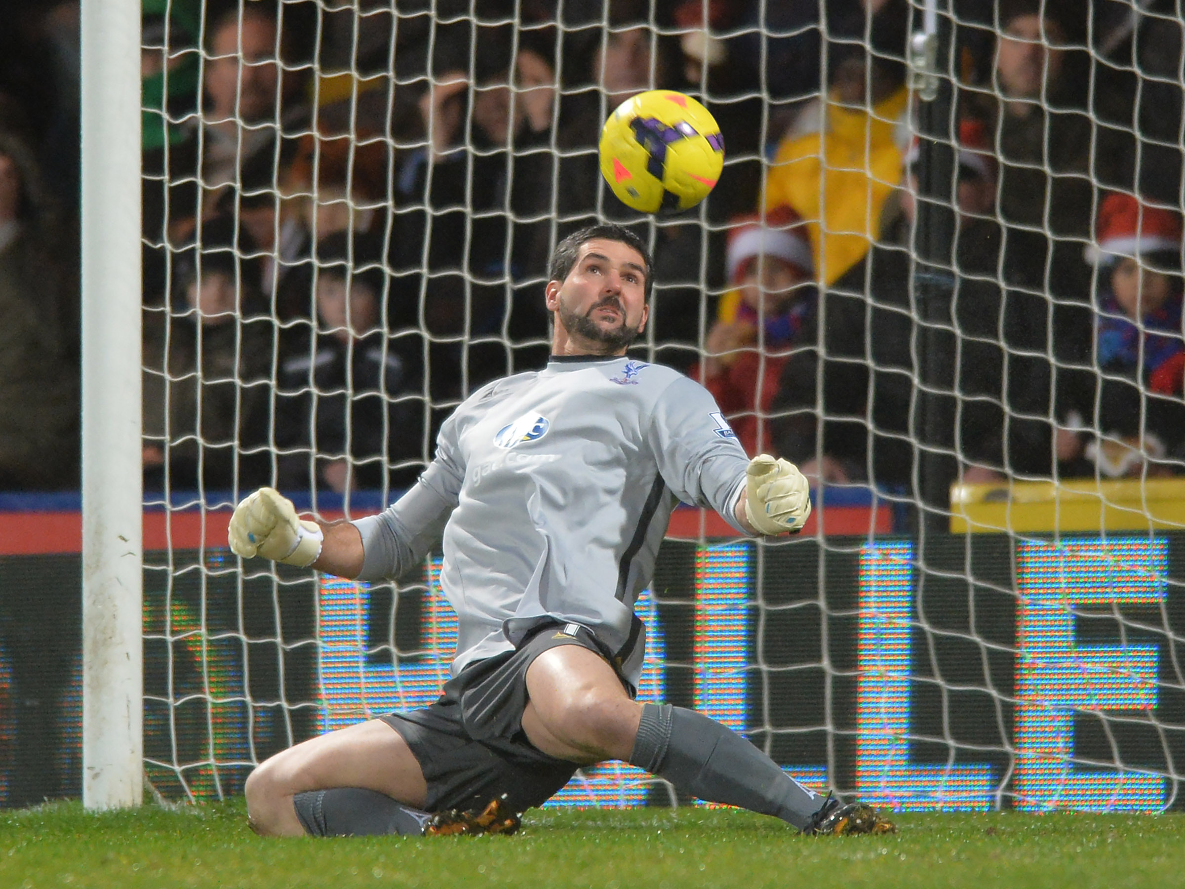 Julian Speroni's future remains unclear. Picture by Keith Gillard.