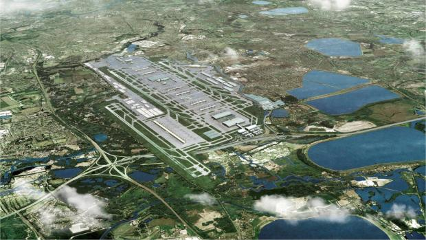 Third runway: Somewhat controversial