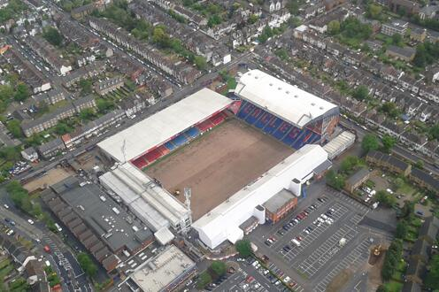 Selhurst Park from above (Pi