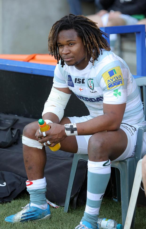 Wimbledon Guardian: Naughty boy: London Irish winger Marland Yarde was handed a yellow card the last time he was at the Stoop