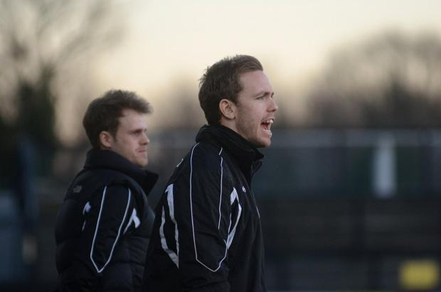 Wimbledon Guardian: Testing season: Craig Tanner's debut season as a manager has had its ups and downs                SP82284
