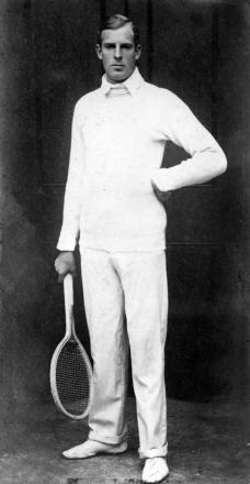 Tennis champion and WWI soldier Anthony Wilding