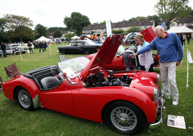 Wimbledon Times: The Classic Car Show is always a popular event