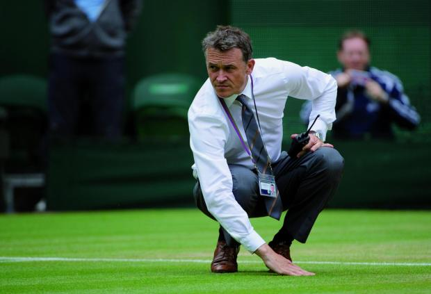 Neil Stubley is the All England Club's head groundsman