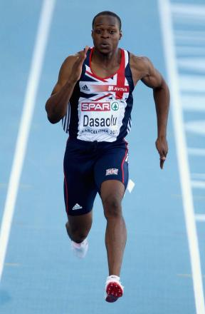 Left out: Selectors omitted James Dasaolu due to the Croydon Harriers' lack of action since the turn of the year