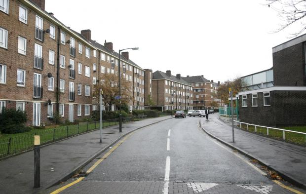 Armfield Crescent: Some of the 9,000 homes run by housing association Circle Housing Merton Priory