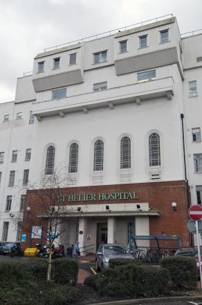 The stolen samples were due for testing at the Epsom and St Helier Hospital