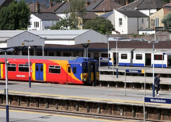 Improvements have been made to Wimbledon train station