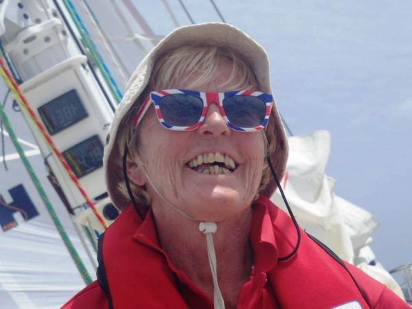 Hands on deck: Gill Sharp