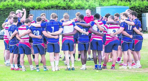 Back together: Rosslyn Park head coach Al