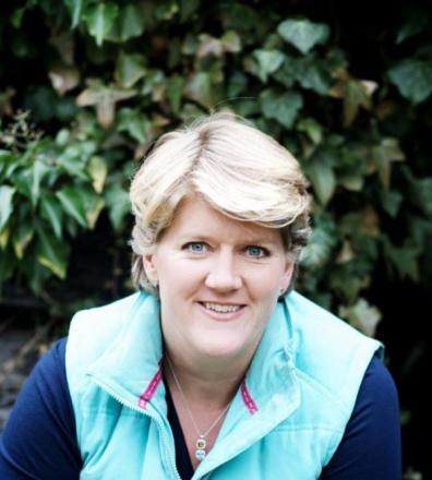 Writer and broadcaster Clare Balding is among celebrities set to talk at the October festival (photo: Bill Waters)