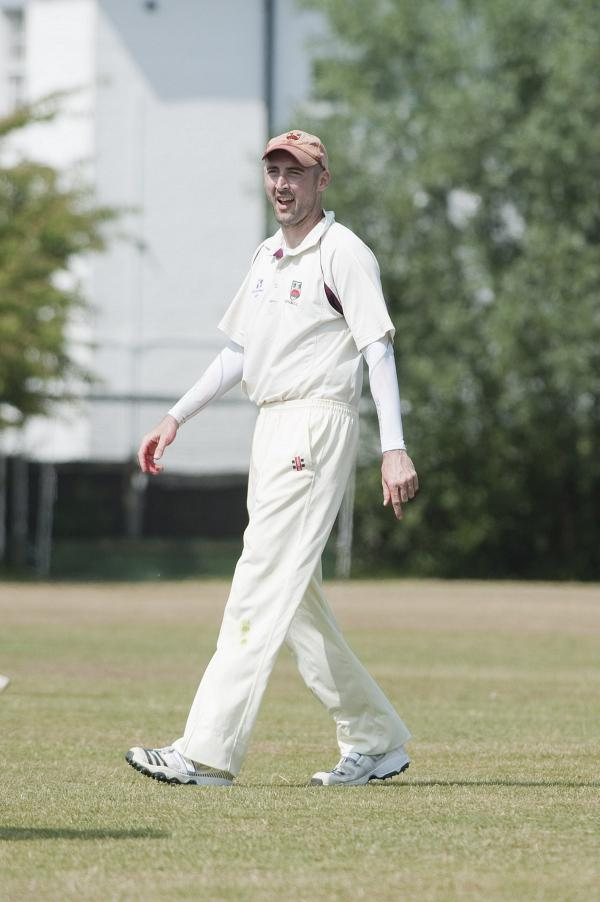 Yawn: Epsom skipper Danny Secchi was left uninspired by Chessington's tactics on Saturday                  SP77831