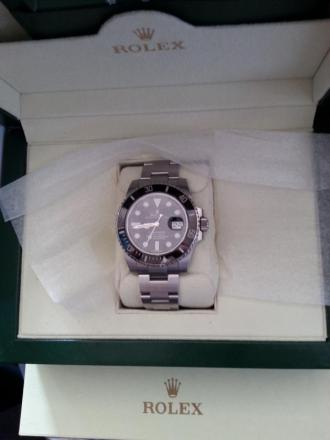 Seized: Rolex watch insured for nearly £6,000