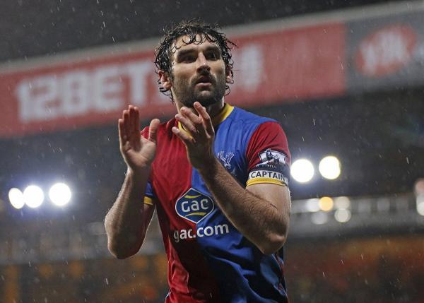 Recuperated: Mile Jedinak is ready for Premier League action for Crystal Palace